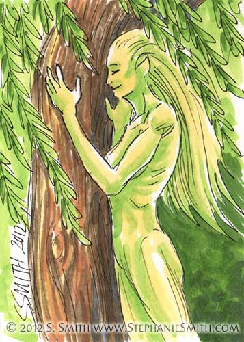 #5 Dryad — Fantasy People series
