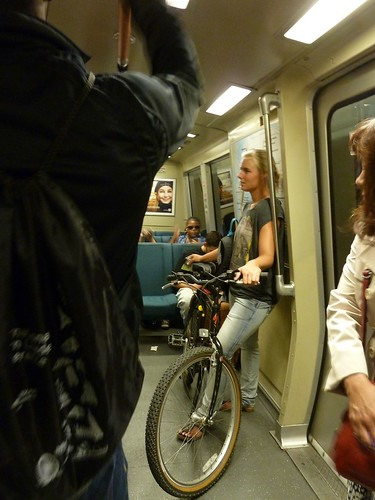 Bikes on Bart Pilot Aug. 10, 2012