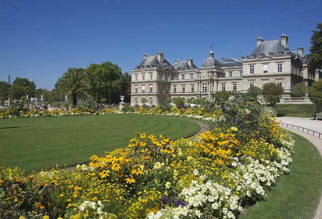Paris le jardin du luxembourg le jardin du luxembourg for Le jardin luxembourg