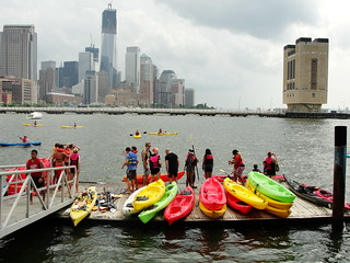 kayaking NYC