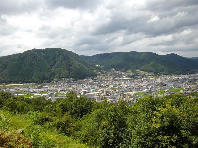 城見展望台からの眺め