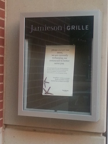 Jamieson Grille Closed For Renovation