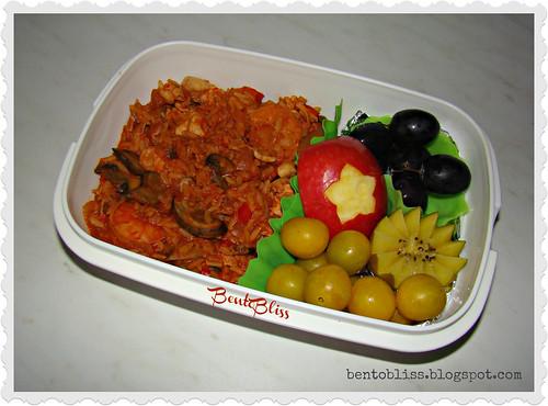 Chicken Jambalaya Bento