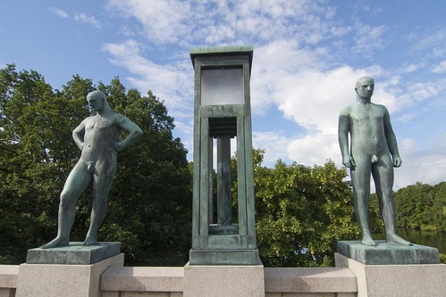 406 Parque Vigeland 20 julio - Oslo