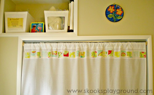 Back Wall - Pop Garden Curtain