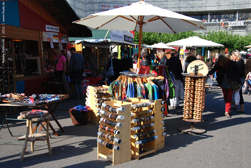 Art dealer market in Kassel