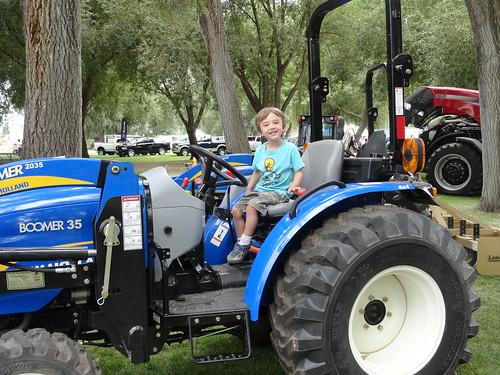 Olsen - tractor boy