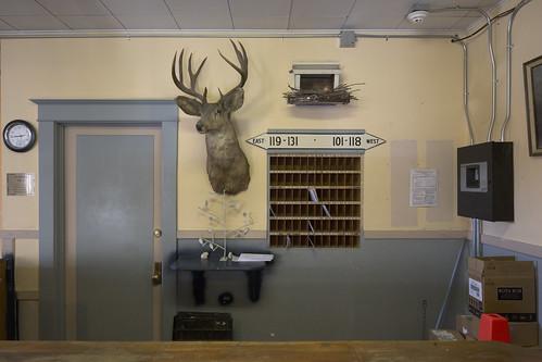 Pioneer Hotel Mailroom, Lobby
