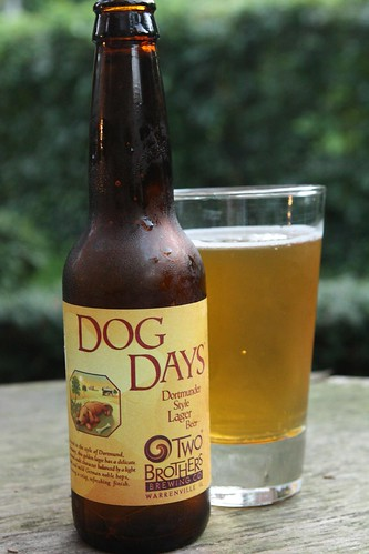 Two Brothers Brewing Company Dog Days Dortmunder Style Lager