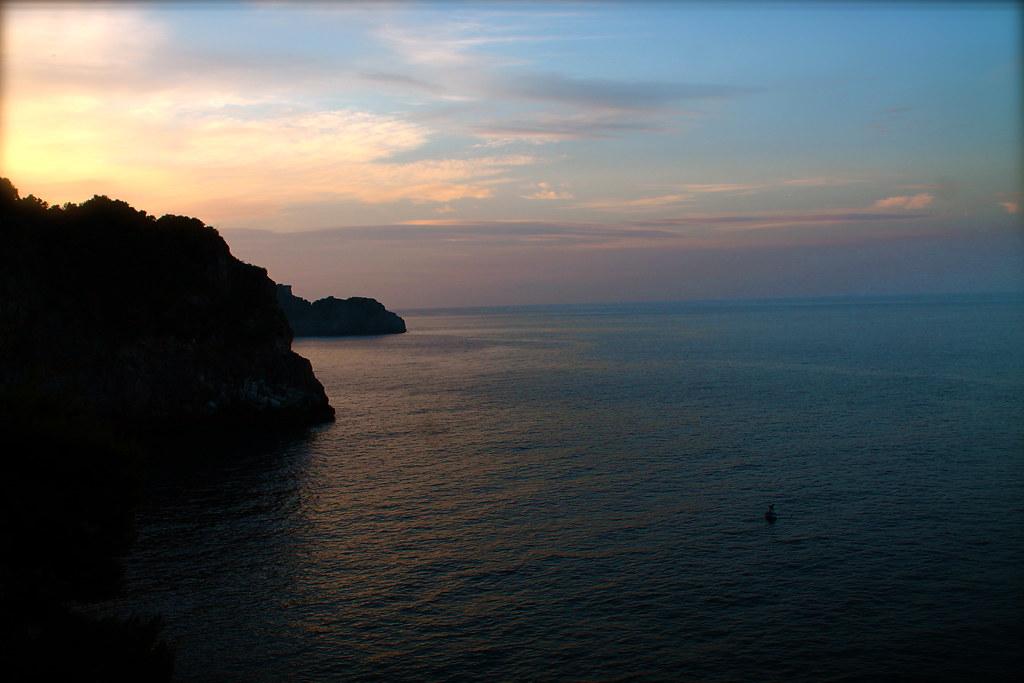 Conca dei Marini Sunset
