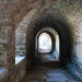 Ancient passageway in  Pirita Convent - Tallinn, Estonia
