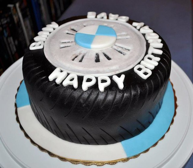 Cake Images For Sir : BMW Tire Cake Explore mm sir ritz s photos on Flickr. mm ...