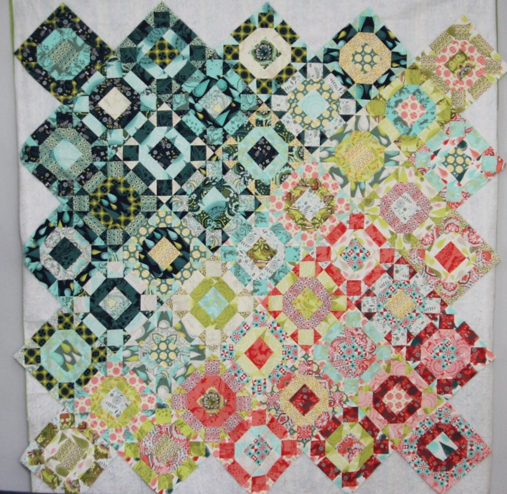 Prince Charming quilt top