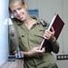 IDF woman showed in the Israeli Military Newspaper - Engineers - by dani09_il