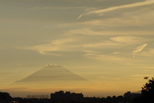 さっきの富士山、ちょっとWB変えてみた