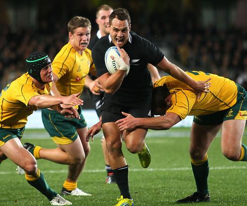 Israel Dagg in meta contro l'Australia