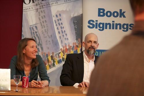 Book signing: Jennifer Rohn & Neal Stephenson