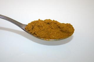 10 - Zutat Madras-Curry / Ingredient madras curry powder