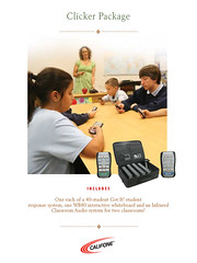 Interactive Student Response, Interactive Whiteboard and Audio System for Classroom AV Wishlist