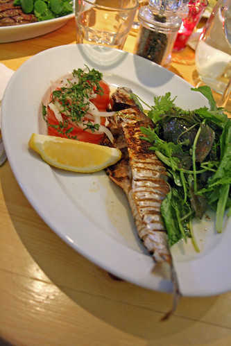 Devilled mackerel