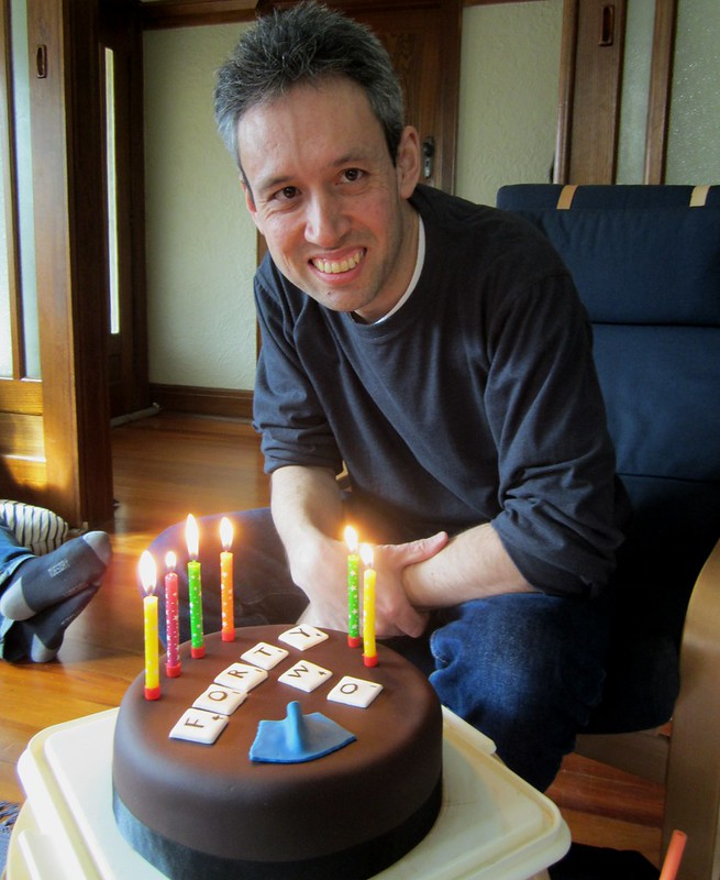 Daniel's birthday cake