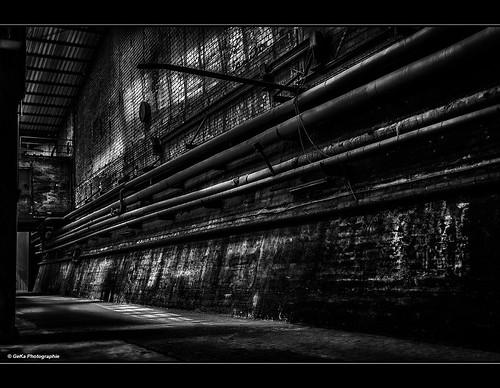 gekaphoto büdelsdorf schleswigholstein deutschland schwarzweis bw nordart carlshütte industrie