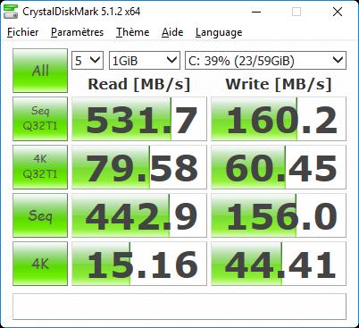 Vorke V1 : SSD