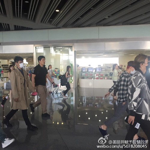 Big Bang - Beijing Airport - 07jun2015 - 美丽并赋予智慧的牙 - 07