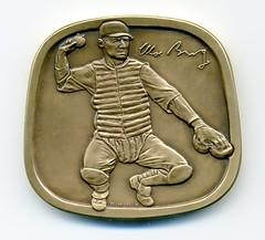 Moe Berg Bronze medal reverse