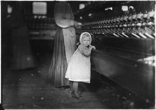 Ivey Mill. Little one, 3 years old, who visits and plays in the mill. Daughter of the overseer. Hickory, N.C, November 1908