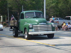 Green Chevy Pick-Up