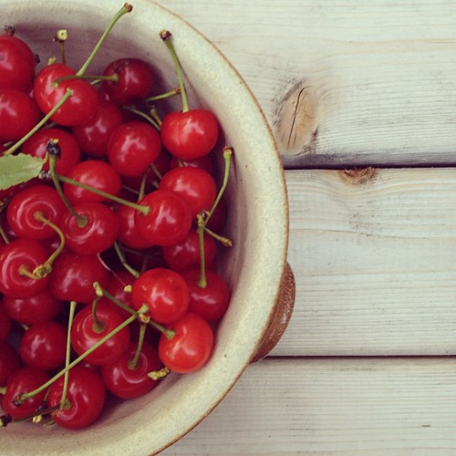 Life is a bowl of cherries - pits and all.  Be thankful for what you have.  #truth #thegarden #blessing #stonefruitsofinstagram #cherrygram