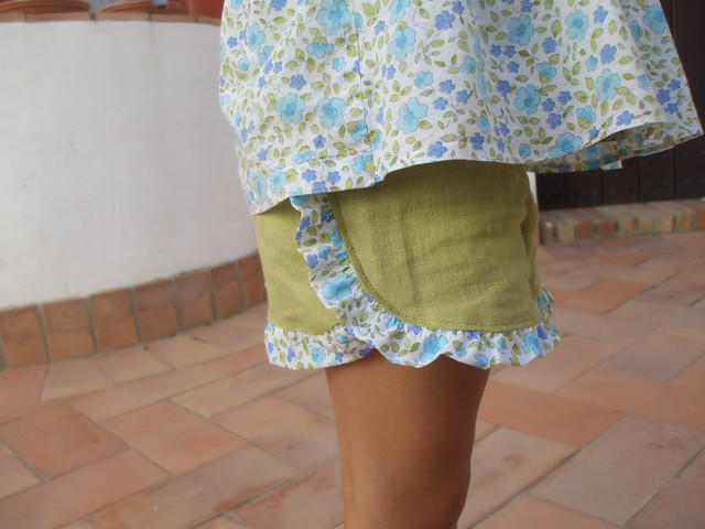 la inglesita ruffled shorts