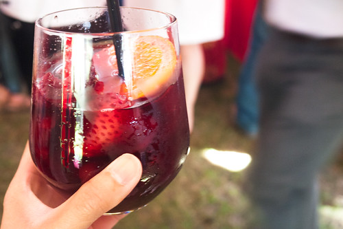 Sangria @ Rouge & White Garden Party