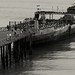Seacliff State Beach Pier and cement boat