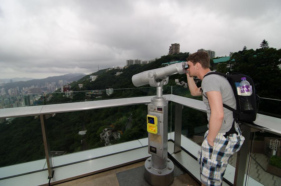 hong-kong peak tram sky terace