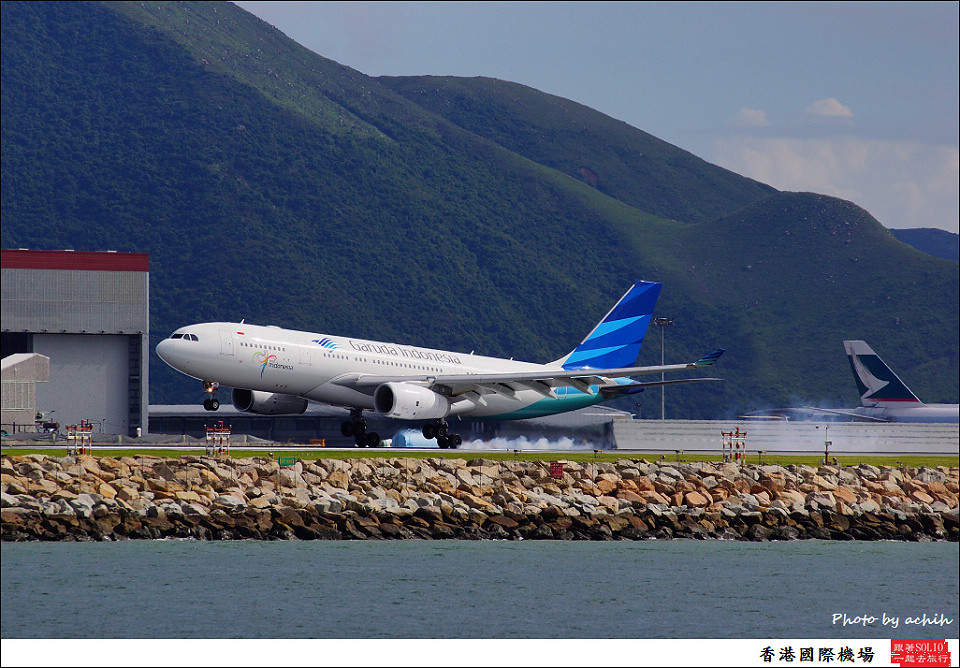 Garuda Indonesia / PK-GPL / Hong Kong International Airport
