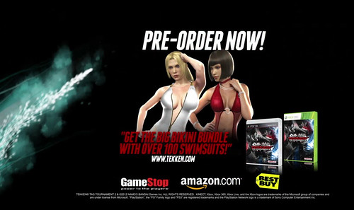 """Tekken Tag Tournament 2 Shows the """"Bad Girls in Tekken Tag Tournament 2"""