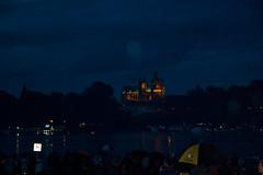 En attendant le Feu d'artifice du 14 Juillet à Metz