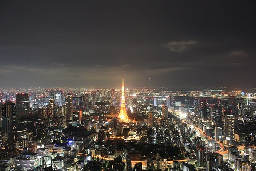 Tokyo from Roppongi Hills Skydeck