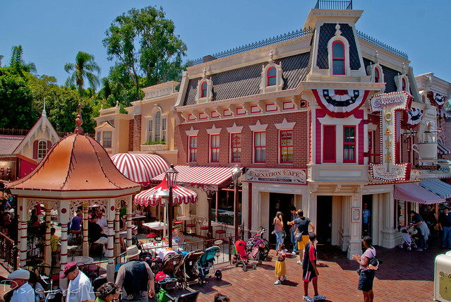 Carnation Cafe - Disneyland