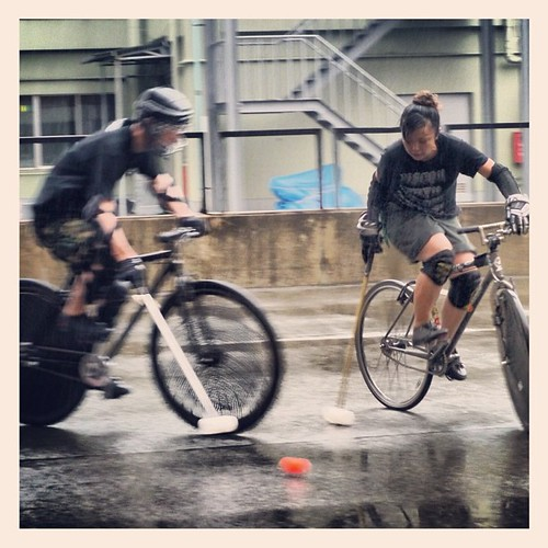Chika VS Atsuko #bikepolo