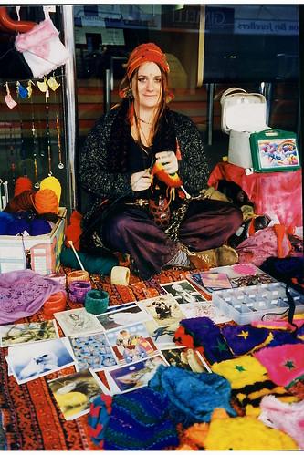 Saleswoman in Byron Bay