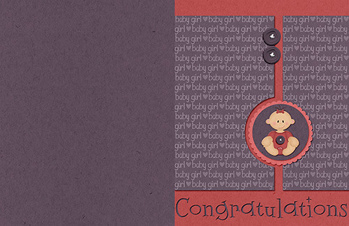 Congratulations Card by Lukasmummy