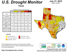 Texas Drought update