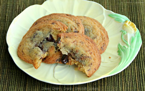 Chewy Cherry Chunky Chocolate Cookies 3A
