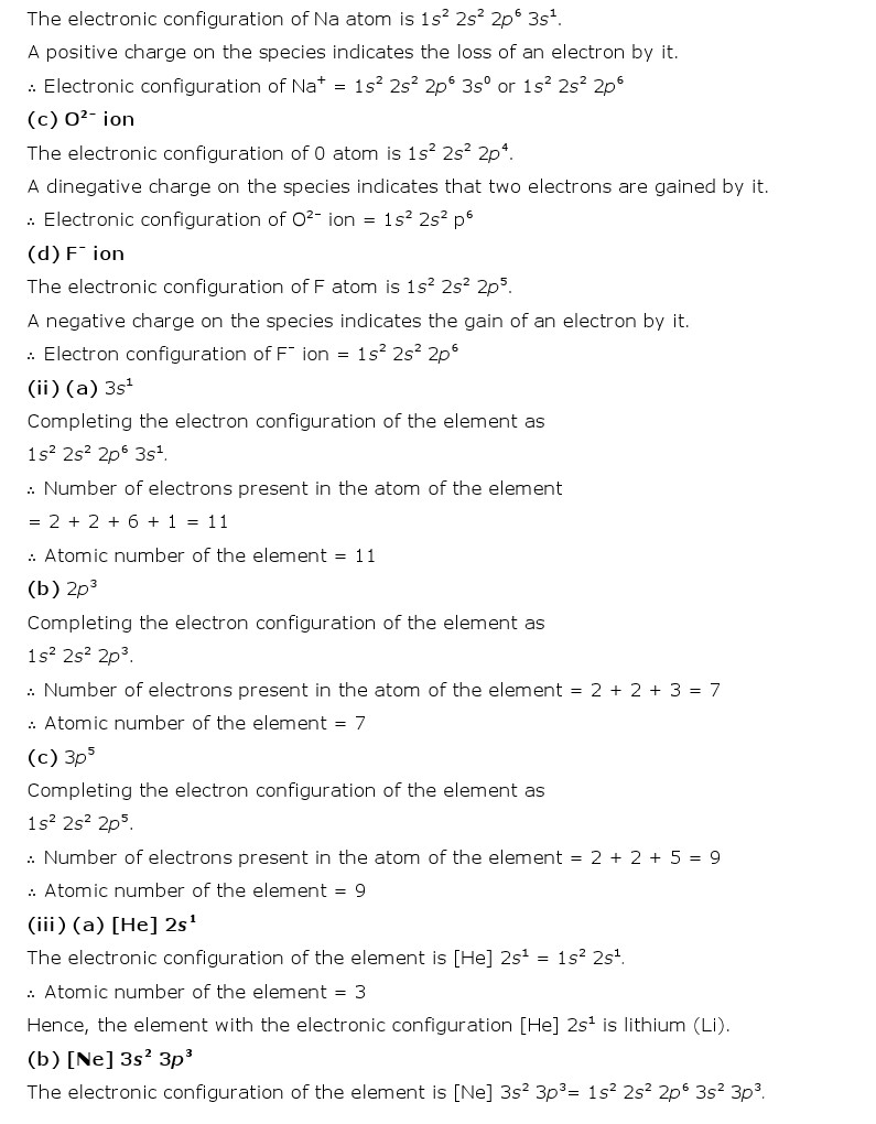 Electron configuration elements atoms and ions worksheet answer key