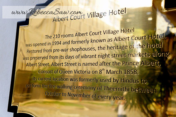 Albert Court Village Hotel - Singapore - hotel review (27)