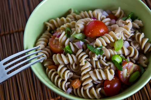 Ginger Pasta Salad