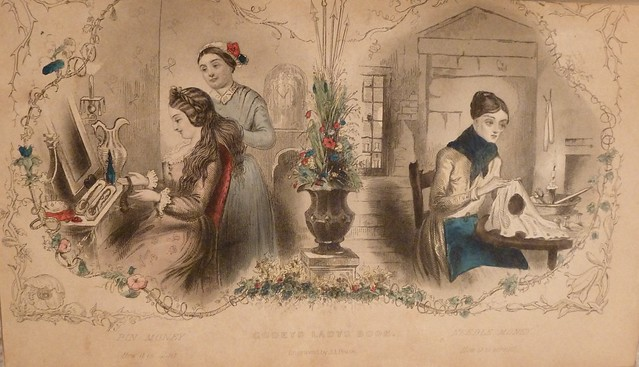 Godey's Lady's Book, January 1853 2